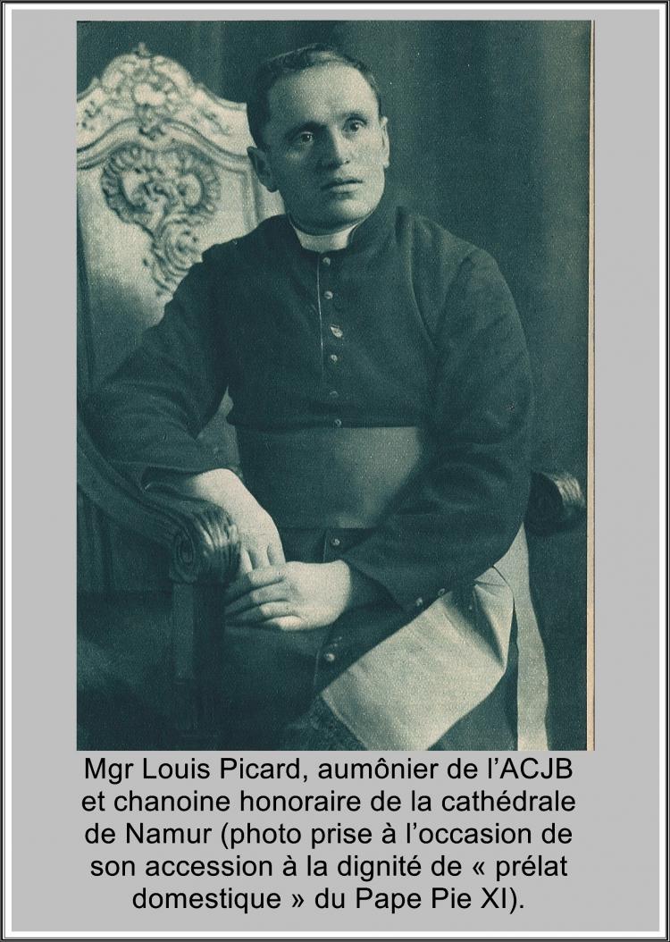 léon degrelle,mgr picard