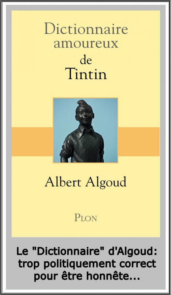 albert algoud,dictionnaire amoureux de tintin,léon degrelle,hergé,tintin mon copain,tintin,olivier mathieu,jean vermeire,jiv,germaine kieckens