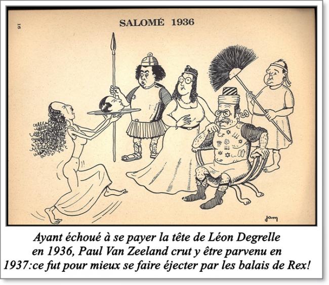 léon degrelle,1937,van zeeland,francis bergeron,rex,élections,coup de crosse
