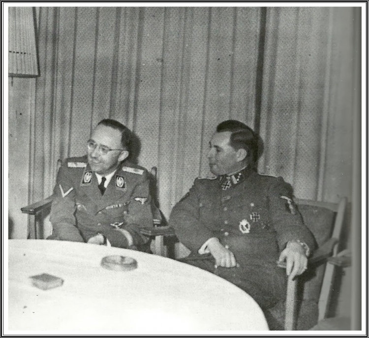 Herbert Otto Gille, Heinrich Himmler & Leon Degrelle.jpg