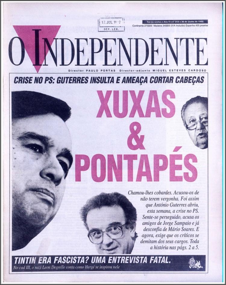 5 O Independente 26 janvier 1992.jpg