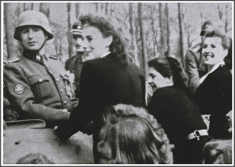 rtbf,jeunesse légionnaire féminine,degrelle m'a dit,duchesse de valence